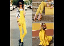 5 Amazing Ways To Style Yellow Color This Summer