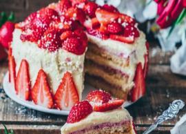 Recipe- Yummy Strawberry Cake