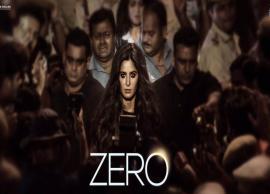 PICS- SRK Unveils First Look of Katrina Kaif in Zero on Her Birthday
