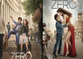 ZERO Posters: SRK as Bauua Singh recreates 'Jab Tak Hai Jaan' chemistry with Anushka and Katrina, with a twist