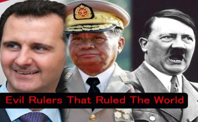 5 Evil Rulers That Ruled The World