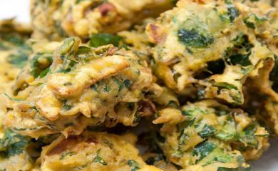 Palak Bhajiya Recipe