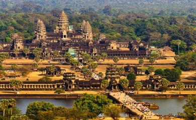 Worlds Biggest Hindu Temple- Angkor Wat Temple