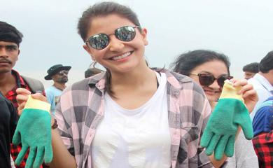 PHOTOS Anushka Sharma is on The Beach And Not For