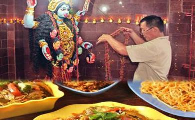 Navratri Special- Kali Mata Temple Where Bhog is Noodles