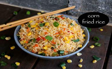 Recipe- Add Corn Tadka To Your Fried Rice