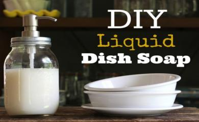 Home Made Liquid Dish Soap That Work Better Than Others