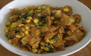 Makar Sankranti - Recipe of Khakra Saag
