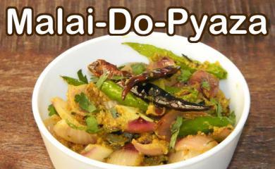 Recipe- Mouthwatering Malai Pyaz