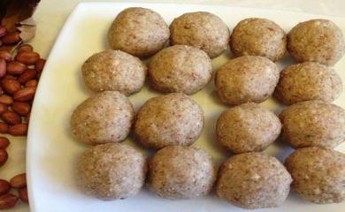 Recipe - Peanut Laddu For Strength in Winters