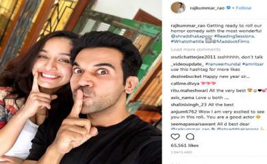 Rajkumar Rao is All Set for Horror Comedy With Shraddha