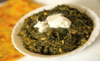 Recipe- Sarso Ka Saag is Best For Winters