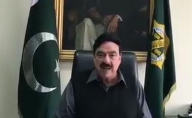 शेख राशिद अहमद की भारत को धमकी, अगर किसी ने पाकिस्तान की ओर देखा तो वो आंखें निकाल ली जाएंगी, वीडियो
