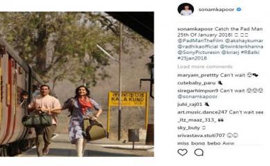 'PadMan': Sonam Kapoor shares new still