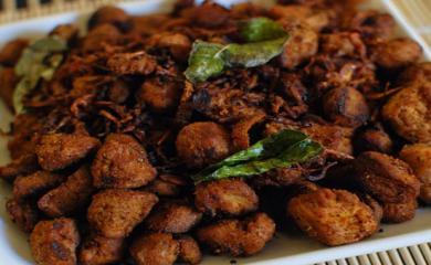 Makar Sankranti - Recipe of Soya Fry