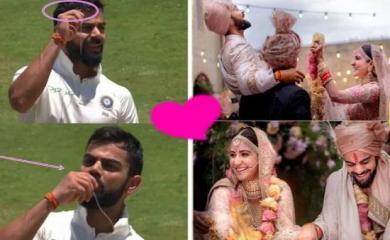 शादी के बाद विराट को मिली बड़ी सफलता, रिंग को KISS कर ऐसे किया WIFE अनुष्का को याद