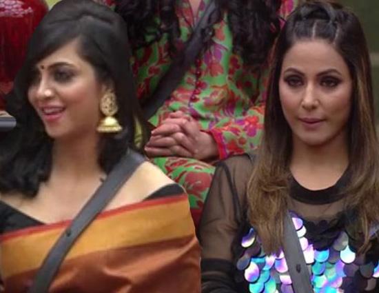 Bigg Boss 11- Arshi Khan Got Violent With Hina Khan in Front of Salman