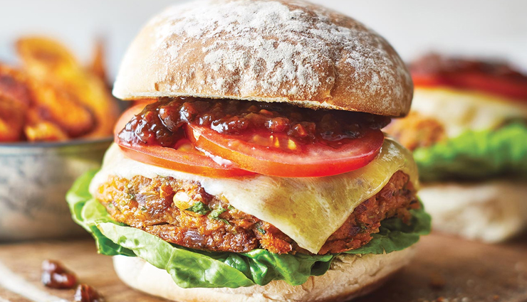 Recipe - Some Days You Just Need a Bean Burger