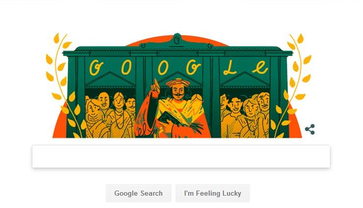गूगल मे डूडल बनाकर मशहूर समाज सुधारक राम मोहन राय को याद किया