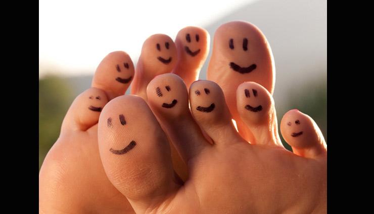 તમારા પગ પરથી જાણો તમારા આરોગ્ય વિશે
