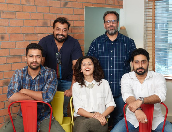 Anurag Kashyap Next Manmarziyaan To Release in February