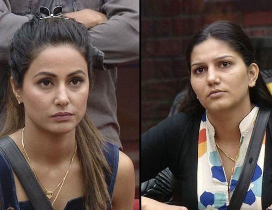 Bigg Boss 11- Hina Khan Beats Sapna and Becomes New Caption of House