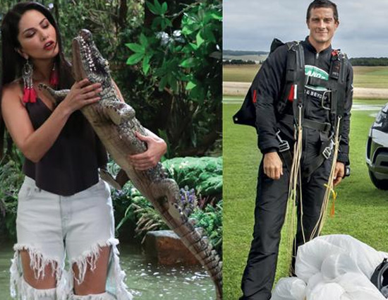 """Remember 'Man vs Wild"""", Sunny Leone is Here Host It Now"""