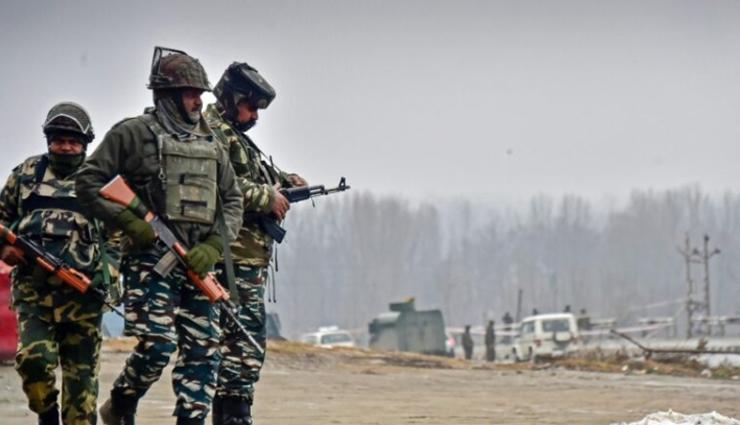 Indian Army Killed Pakistani Terrorist in Rajouri