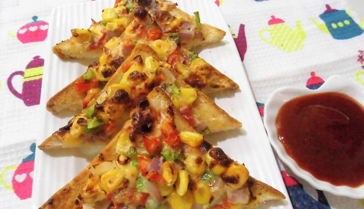 indian cheese corn toast,corn recipe,toast recipe,snacks recipe,recipe