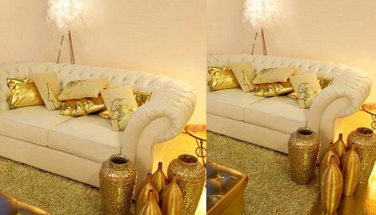 home interior,interior design,golden color interior,home decor,home decor tips,household tips ,हाउसहोल्ड, होम डेकोर, घर का इंटीरियर, गोल्डन रंग का इंटीरियर