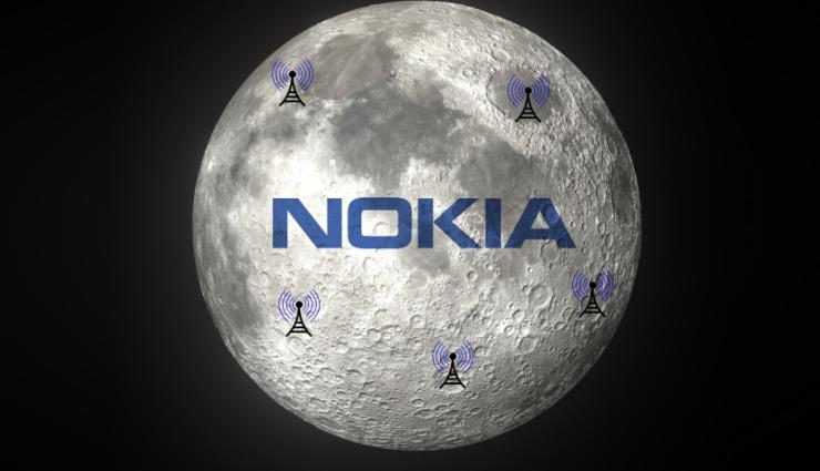 nokia,nasa,moon,internet on moon,mobile network on moon,news,tech news ,चंद्रमा,नोकिया