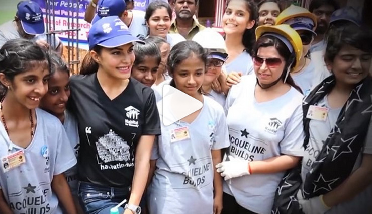 VIDEO- Jacqueline Fernandez extends her helping hand to rebuild Kerala