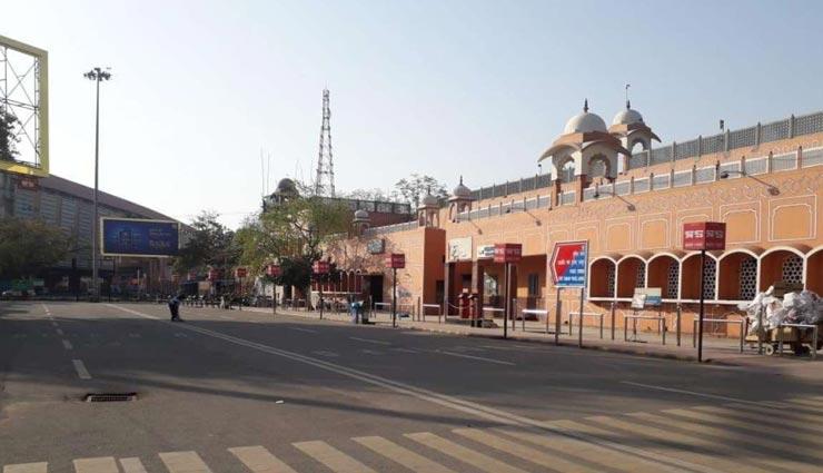 जयपुर : रेलवे और हवाई सफ़र पर पड़ी कोरोना की मार, 10 और ट्रेनों को किया रद्द