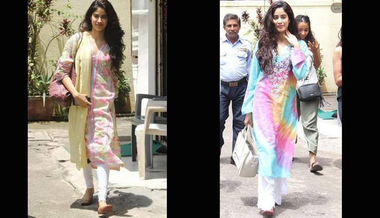 ca99865ec5 5 Desi Look From Jhanvi Kapoor's Wardrobe - lifeberrys.com