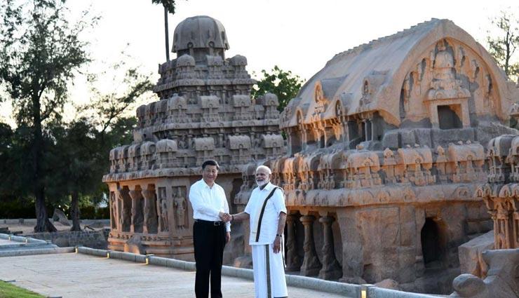 चीन के राष्ट्रपति शी जिनपिंग के साथ आप भी ले महाबलीपुरम घूमने का मजा