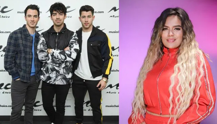 PICS- Jonas Brothers drop new single 'X' in collaboration with Karol G