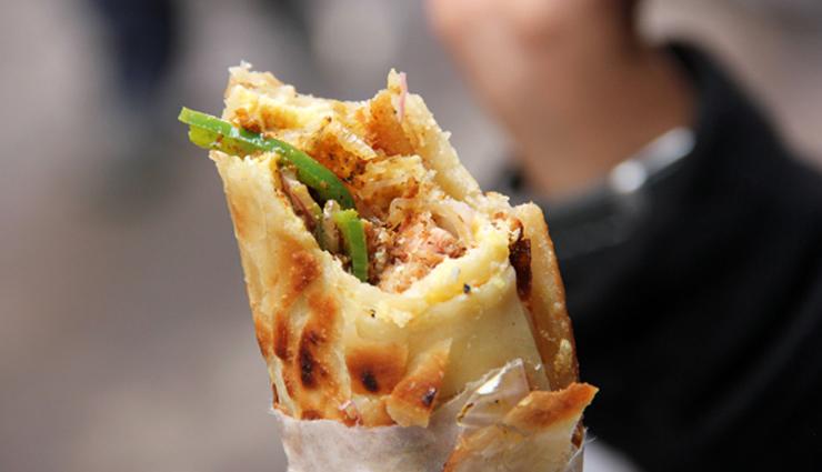 calcutta style kathi roll,kathi roll recipe,snacks recipe,main course recipe