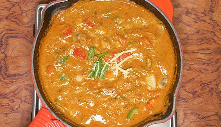 kadai mushroom,kadai mushroom recipe,sunday dinner recipe,biryani,paratha,veg recipe,recipe