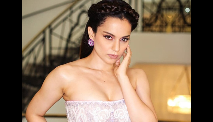 PICS- Kangana Ranaut is a princess straight out of a fairytale in her dreamy white embellished gown