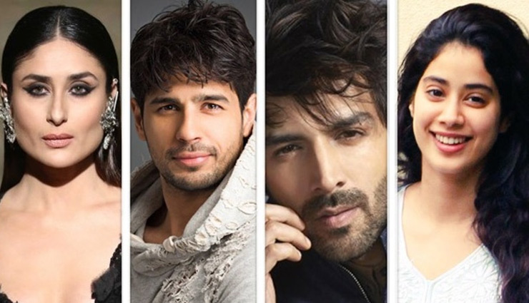 Karan Johar replaces Sidharth Malhotra opposite Kareena, ropes in Janhvi Kapoor & Kartik Aaryan