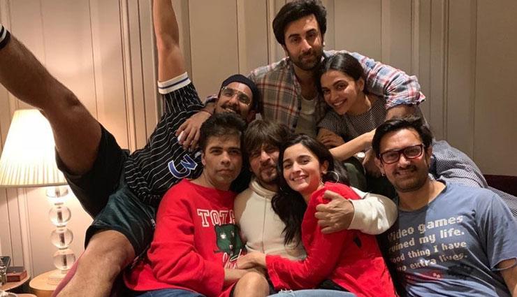 PICS- Karan Johar's 'new blockbuster' features Ranbir Kapoor, Alia Bhatt, Deepika Padukone, Ranveer Singh, Shah Rukh and Aamir Khan