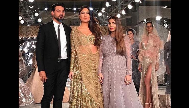PICS- India Couture Fashion Week 2018: Kareena Kapoor Khan dazzles in golden lehenga