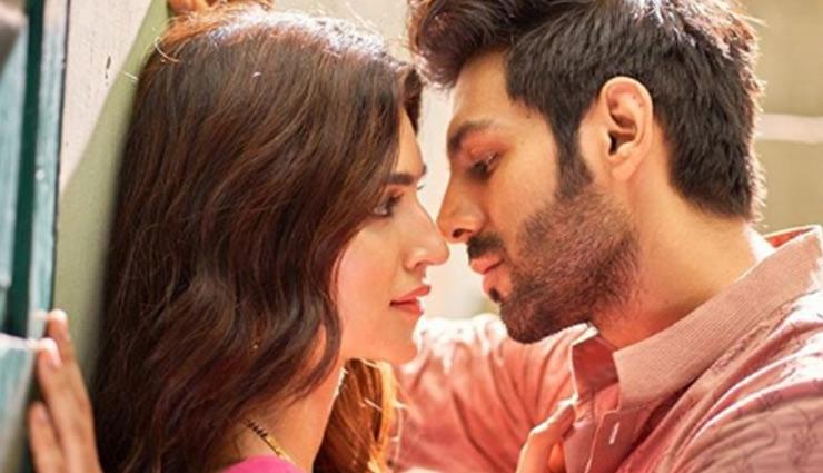 Here's why Kriti Sanon teases Kartik Aaryan as 'Son Of Gwalior'