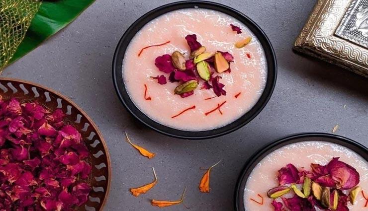 बकरीद स्पेशल : स्वादिष्ट 'केसर फिरनी' से भरें त्यौहार में मिठास #Recipe