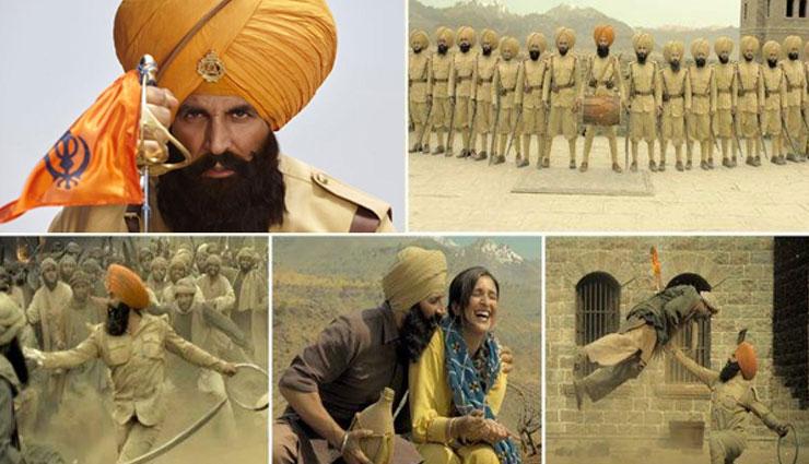 'केसरी': अक्षय पर फोकस रहता है कैमरा, दूसरे किरदारों को किया नजरअंदाज