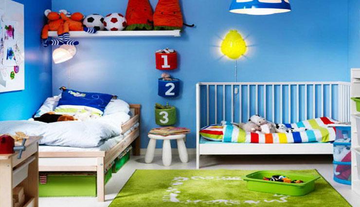 चाहते है बच्चों का सम्पूर्ण विकास तो इन तरीकों की मदद से सजाए उनका कमरा