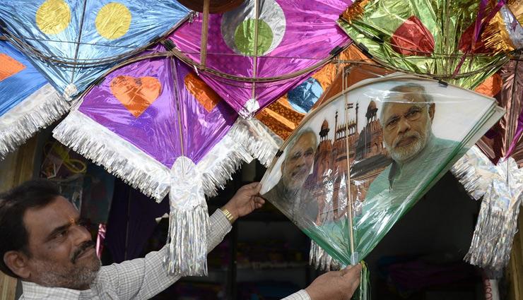 Makar Sankranti 2019: Kites With PM Narendra Modi, Rahul Gandhi Pics on High Demand