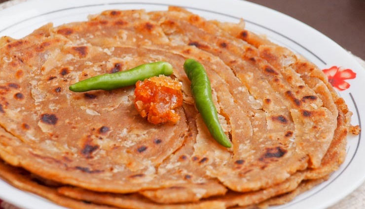 Recipe- Sindhi Special Koki Onion Paratha