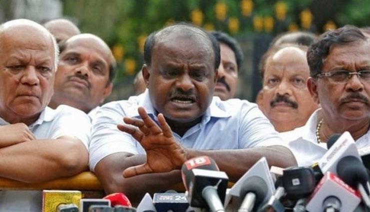 कुमारस्वामी ने नरेंद्र मोदी पर लगाए गंभीर आरोप, कहा - वोट के लिए पैदा किया गया भारत-पाकिस्तान में तनाव