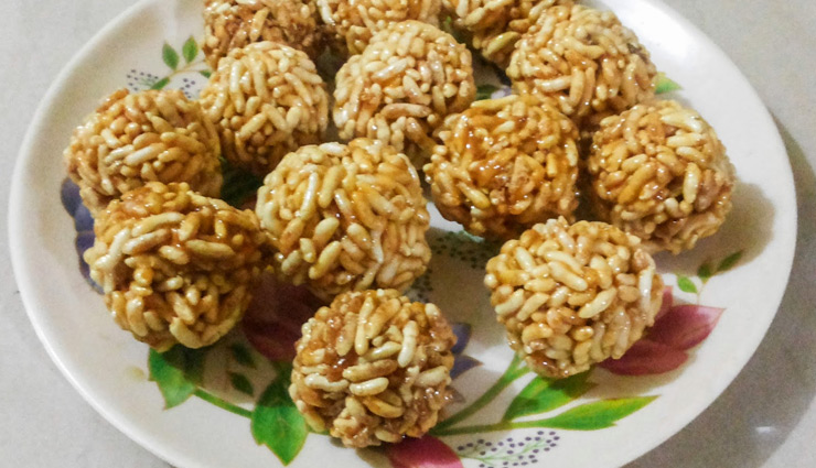 Makar Sankranti 2019- How to make Kurmura Laddoo